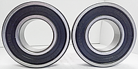 Подшипник качения шариковый радиальный однорядный с двухсторонней защитой и уплотнением из резины или пластмассы180302 (6302 2RS) Подшипник (ББ)