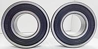 Подшипник качения шариковый радиальный однорядный с двухсторонней защитой и уплотнением из резины или пластмассы180302 (6302 2RS) Подшипник (CX)