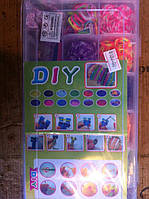 Набор резинок для плетения браслетов, фото 1