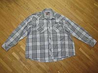 Рубашка 4XL COLUMBIA, 100% хлопок, ПОГ 79 см. как НОВАЯ!