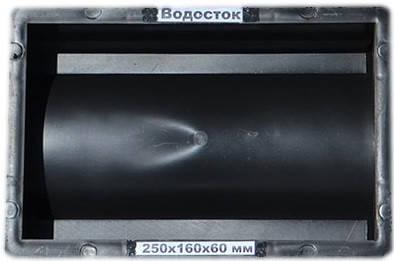 Водосток, форма 25х16х6 см, Украина