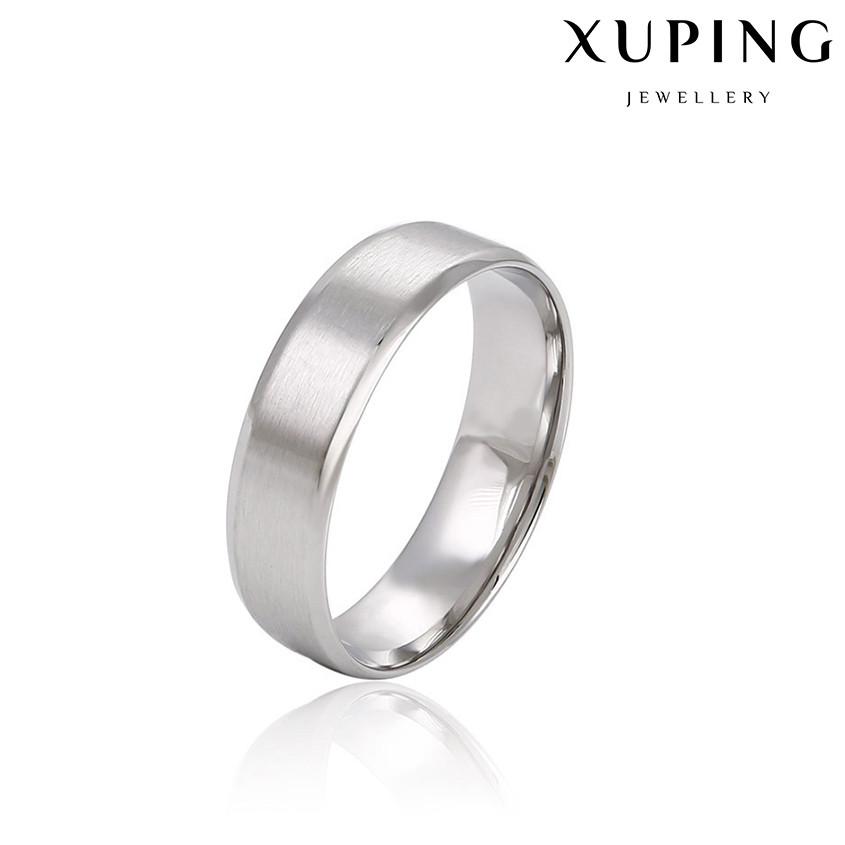 Кольцо обручальное 14783 размер 16, ширина 5 мм, позолота Белое Золото
