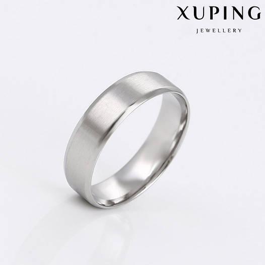 Кольцо обручальное 14783 размер 20, ширина 5 мм, позолота Белое Золото