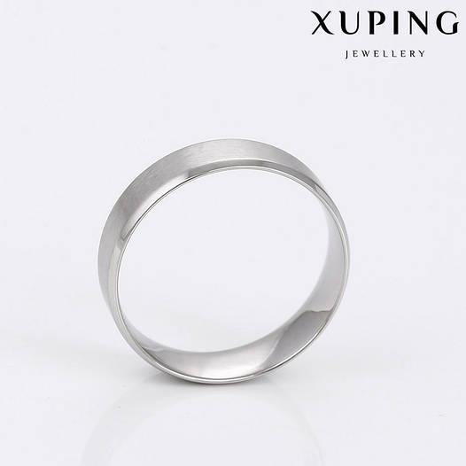 Кольцо обручальное 14783 размер 21, ширина 5 мм, позолота Белое Золото