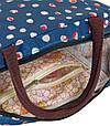 Цікава косметичка у вигляді сумочки Traum 7014-40, синього кольору., фото 3