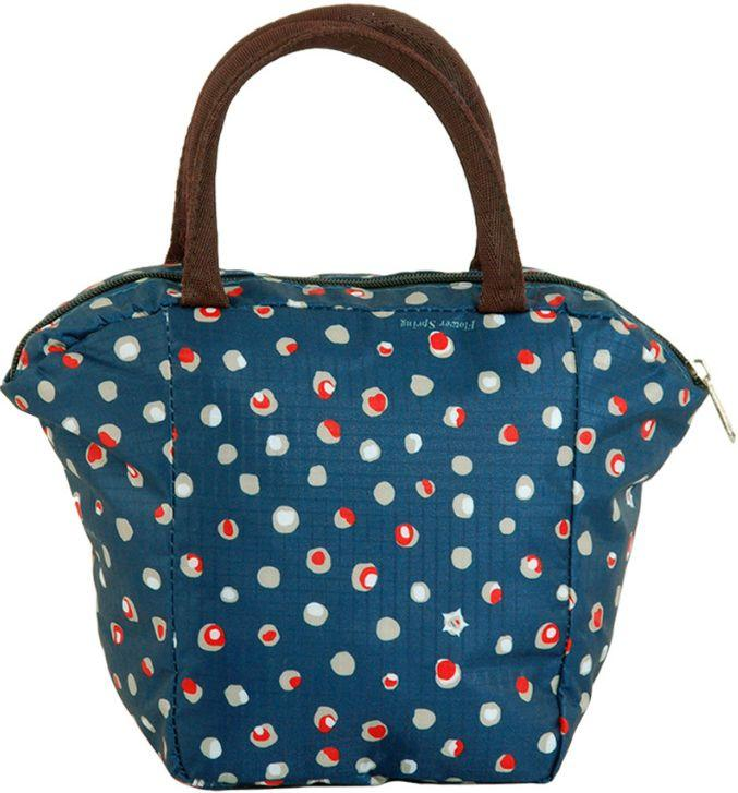 Интересная косметичка в виде сумочки Traum 7014-40, синего цвета.