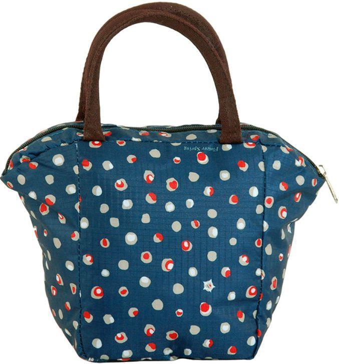 Цікава косметичка у вигляді сумочки Traum 7014-40, синього кольору.