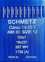 Иглы Schmetz №80 для промышленных швейных машин