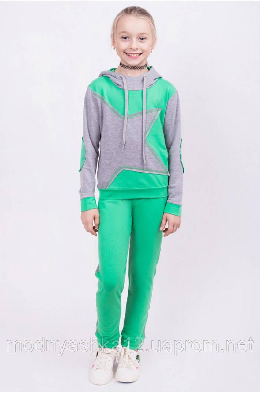 78a5c30026eb0 Детский спортивный костюм для девочек, размер 122-128-134-140-146-152 см,  двунитка, цена 380 грн., купить Одеса — Prom.ua (ID#555862558)