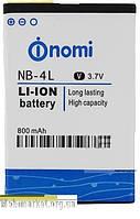 Original Акумулятор NOMI I240 NB-4L 800mAh