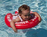 Безопасный детский надувной круг / круг для начинающих / надувной круг для малышей от 3 мес до 4 лет, фото 1
