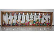 Бутылочки с пожеланиями  12шт  1021-7