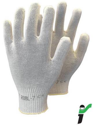 Защитные перчатки из хлопка RJ-WKS BE, фото 2