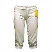 Летние белые женские бриджи недорого BZ11366N-4