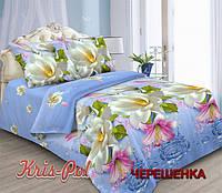 Полуторный набор постельного белья 150*220 из Полиэстера №85518 KRISPOL™
