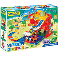 Wader Детский гараж 3 уровня с дорогой 50400