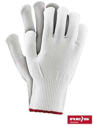 Защитные перчатки изготовленные из нейлона, снабженные резинкой RPOLY W, фото 2