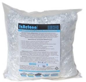 Фиброволокно для бетона 3 мм.