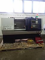 Токарный станок по металлу с ЧПУ Zenitech ZK 360x1000