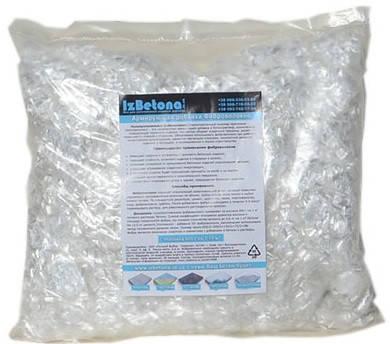 Фиброволокно для бетона 6 мм