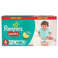 Pampers Pants 6 (44шт)  16+ кг. детские подгузники-трусики