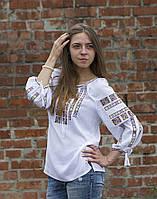 Вышиванка женская «Американка» поплин