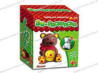 "3D-Раскраска - фигурка ""Медведь"" 15100102Р(3044-8)"