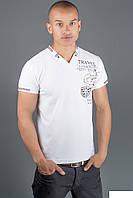 Мужская, стильная, качественная, красивая футболка   цвет белый р- 44, 46, 48, 50, 52, 54, 56, 58