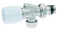 2-х угловой вентиль, с возможностью установки термоголовки