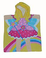 Пляжное полотенце для девочки.
