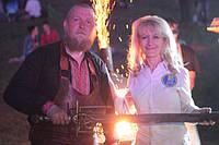 Рекордний меч Kozak Fest 2017 з ковалем Талісманом
