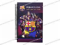 Блокнот карт. обложка, спир., 80л., А5- Barcelona /1/25/50/(BC14-221K)