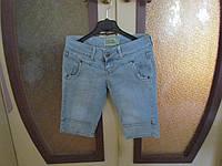 Бермуды джинсовые, женские р 42-44 Bershka Испания