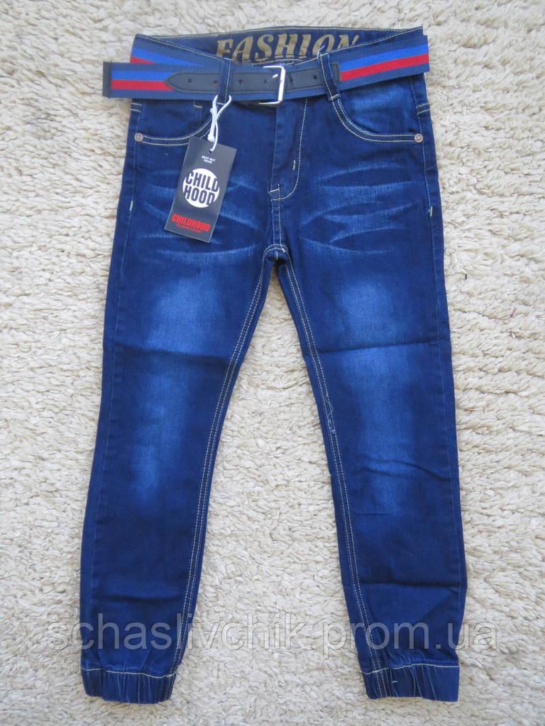 Джинсовые брюки для мальчиков оптом, Childhood, 116-146