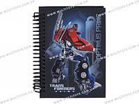 Блокнот карт. обложка, спир., 80л., А6 Transformers /1/50/100/(TF13-222K)