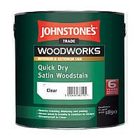 Защита для дерева от уф-лучей, лессирующее водорастворимое покрытие Quick Dry Satin Woodstain