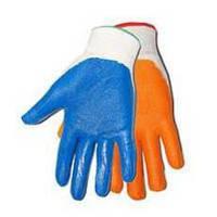 Перчатка стрейч (синий, оранжевый)