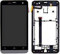 Дисплей (экран) для телефона Asus ZenFone 5 A500CG, ZenFone 5 A500KL, ZenFone 5 A501CG + Touchscreen with frame Original