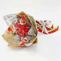 Букет из игрушек Мишки тедди с чупа-чупс Крафт