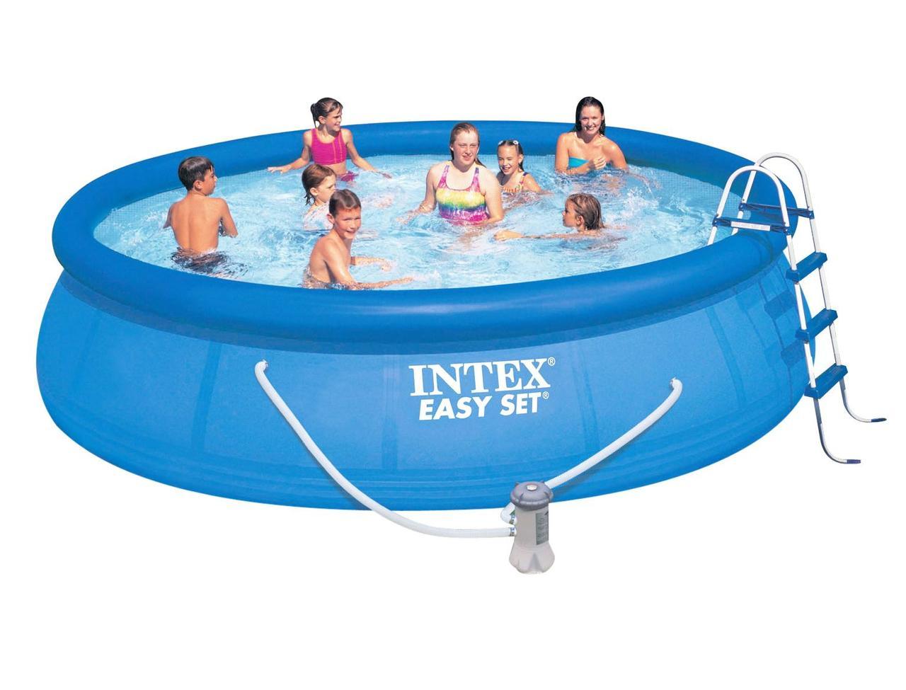 Надувной бассейн Intex 457х107 см  (28166)