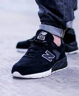 New Balance 580 All Black. Стильные кроссовки. Интернет магазин кроссовок. Черные кроссовки.