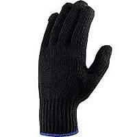 Перчатка Х/Б черная зимняя