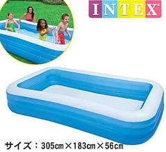 Надувной бассейн для всей семьи Intex