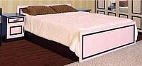 Кровать 2СП-1.6 Свит Меблив Ким ДСП венге темный/венге светлый