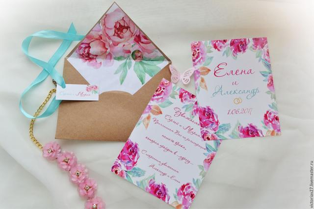 Дизайн приглашений на свадьбу в Днепре