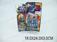 """Конструктор """"STAR WARS"""" 10 видов, на планш. 18х24х3 /360(9493)"""