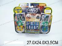 """Конструктор """"STAR WARS"""" 5 видов, на планш. 27х24х3,5 /192(9492)"""