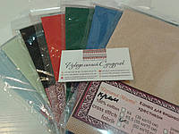 Цветная канва для вышивки (Беларусь) - 50*50 см