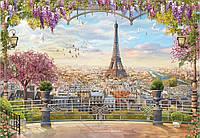 Скинали Фреска Париж - стекло с фотопечатью