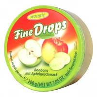 Леденцы Fine Drops Woogie со вкусом яблока, 200 гр